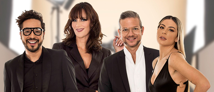 Fernando Delfino, Cynthia Lander, Carlos Reina y Kika Kolman
