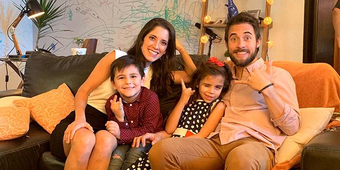 María Pura Imhof, Gerardo Oñate, Patricio González Lucio y Sofía Morayta.